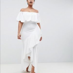 Asos club l white dress with tags